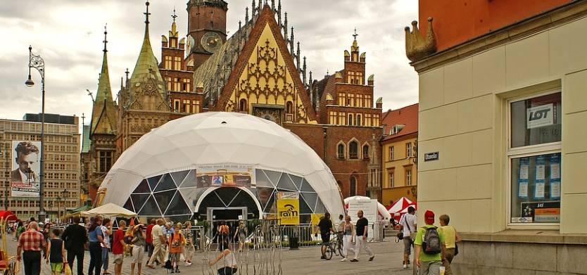 Promocja firmy we Wrocławiu