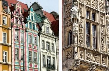 Wrocław kamienice