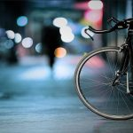 rower nocą