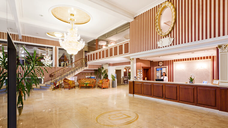 Recepcja Hotelu Jasek Premium